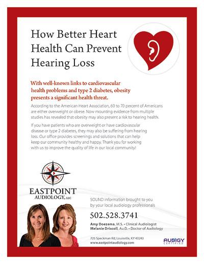 How Better Heart Health Can Prevent Hearing Loss - Newsletter