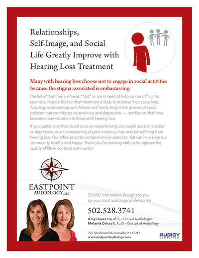 Relationships, Self-Image, and Social Life Greatly Improve with Hearing Loss Treatment - Newsletter